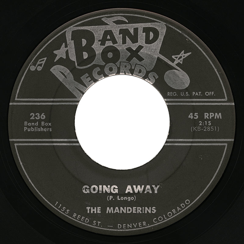 Manderins – Going Away – Band Box