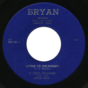 V. Cecil Williams – Going To Oklahoma – Bryan