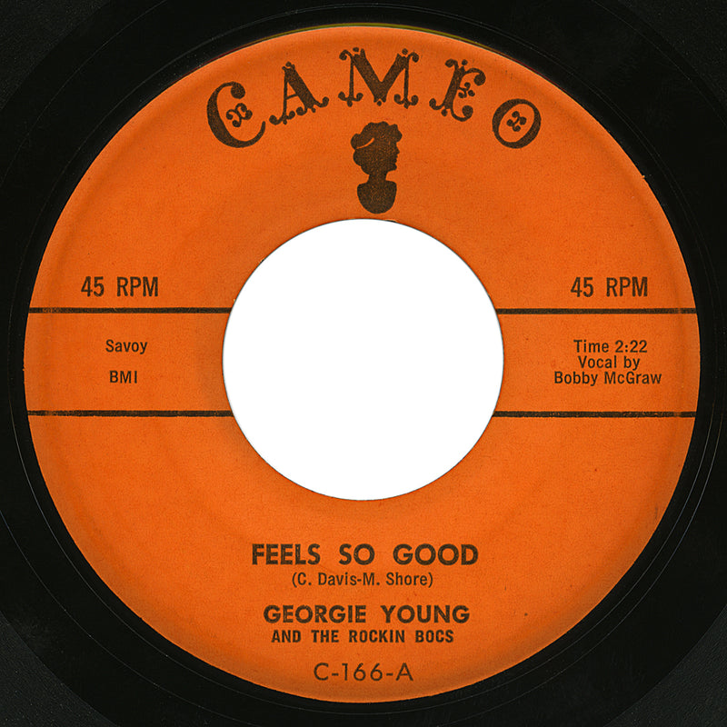 Georgie Young and The Rockin Bocs – Feels So Good – Cameo