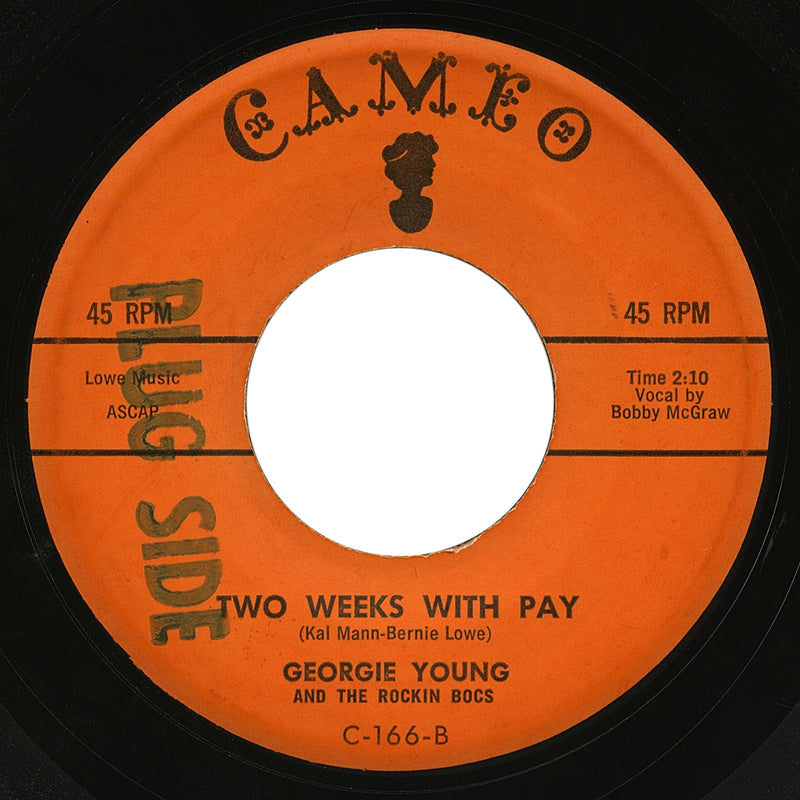 Georgie Young and The Rockin Bocs – Two Weeks With Pay – Cameo