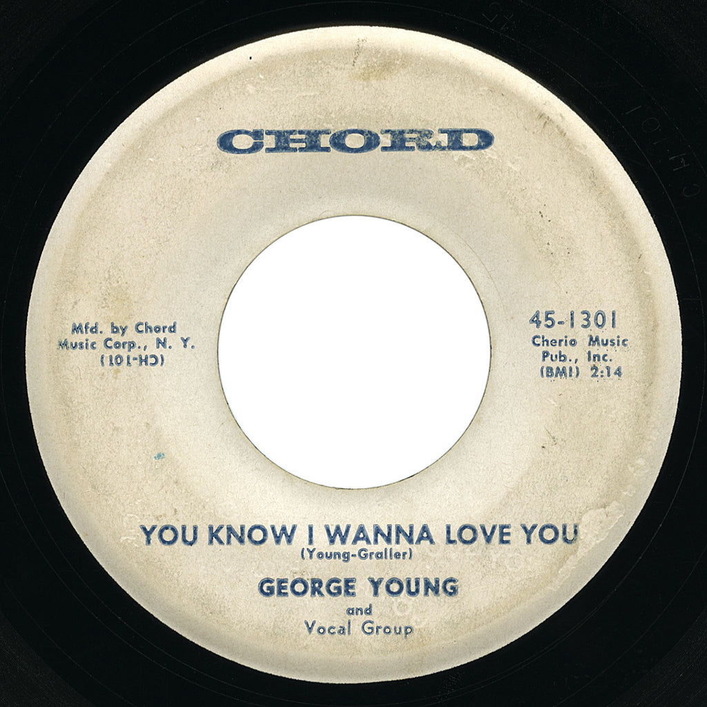 George Young – You Know I Wanna Love You – Chord