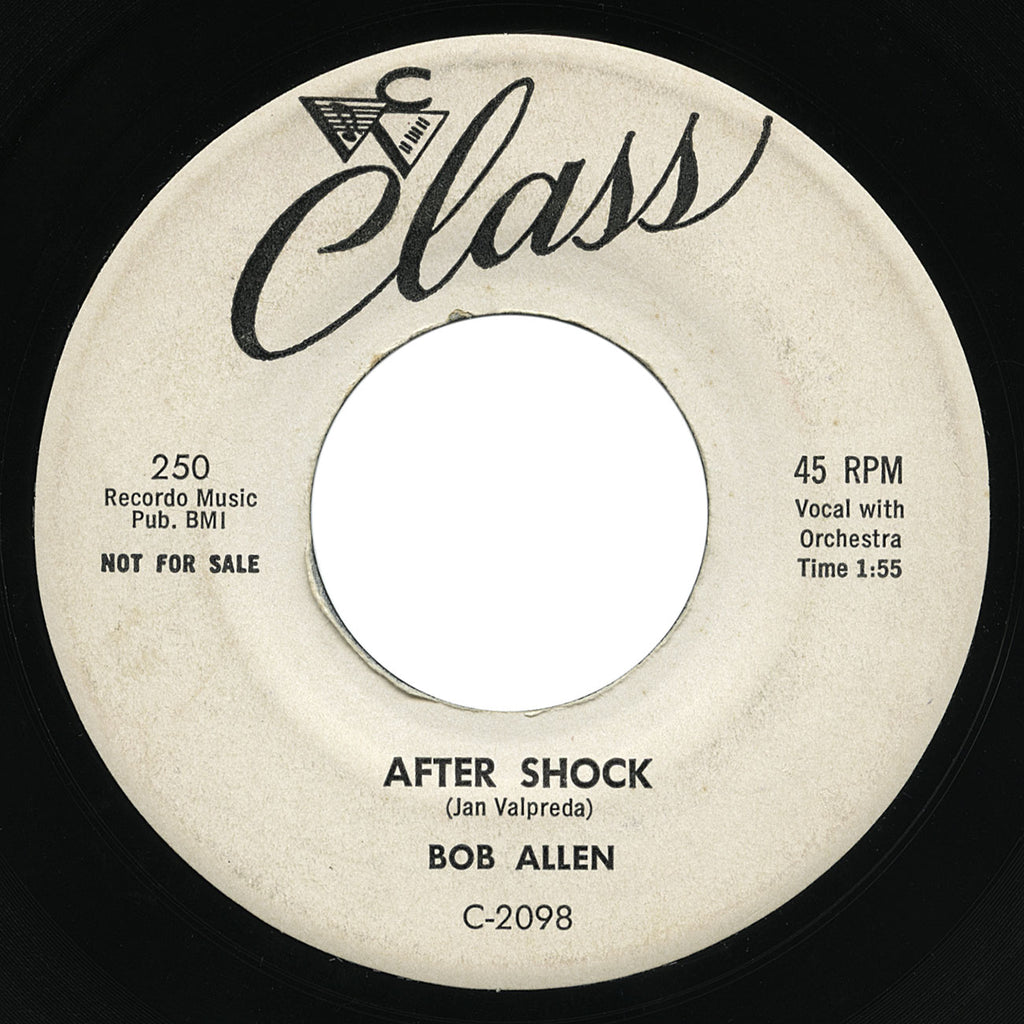 Bob Allen – After Shock – Class