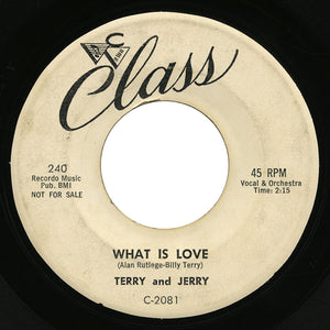 Terry and Jerry – What Is Love – Class