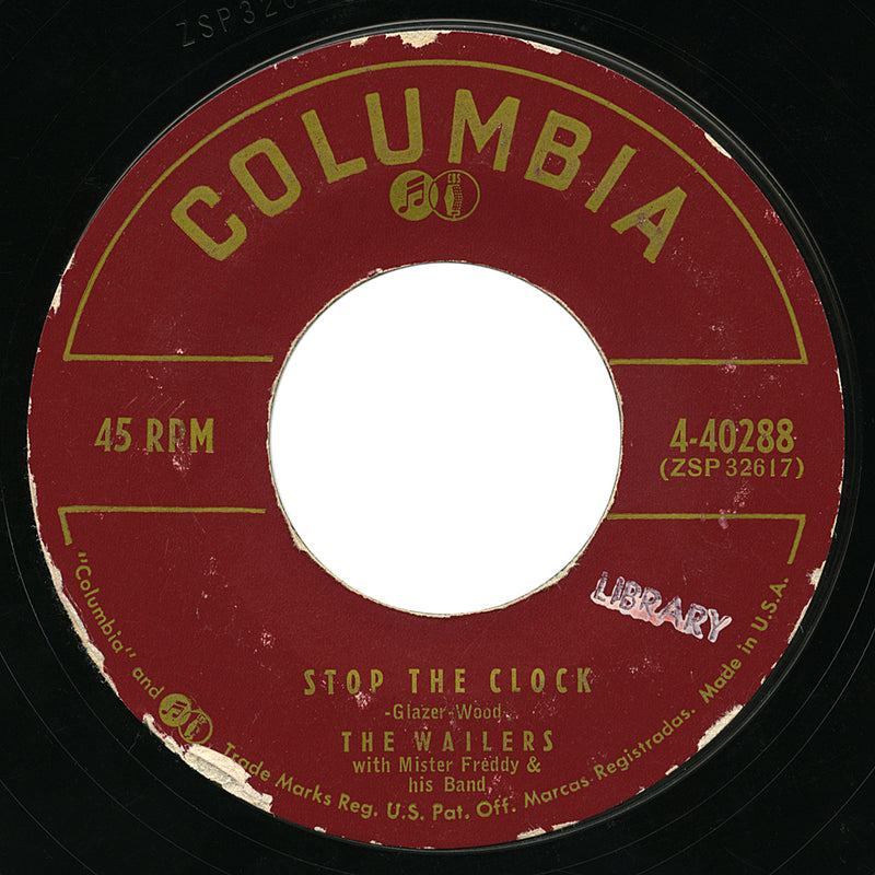 Wailers – Stop The Clock – Columbia