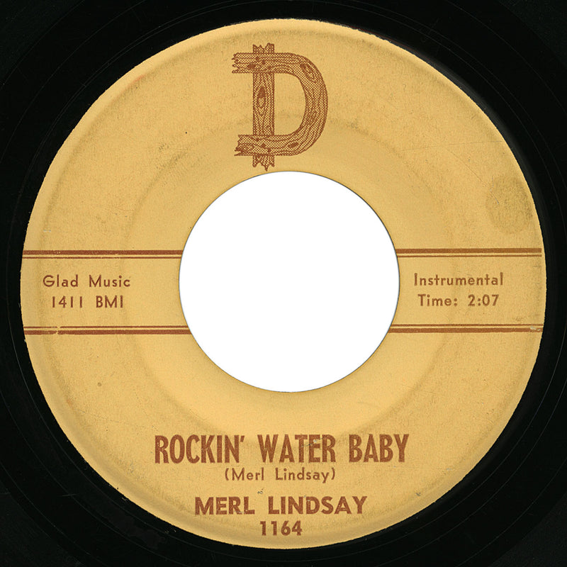 Merl Lindsay – Rockin' Water Baby – D
