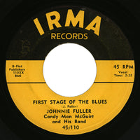Johnnie Fuller – First Stage Of The Blues – Irma