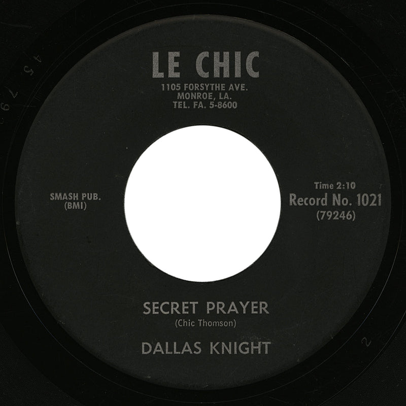 Dallas Knight – Secret Prayer – Le Chic