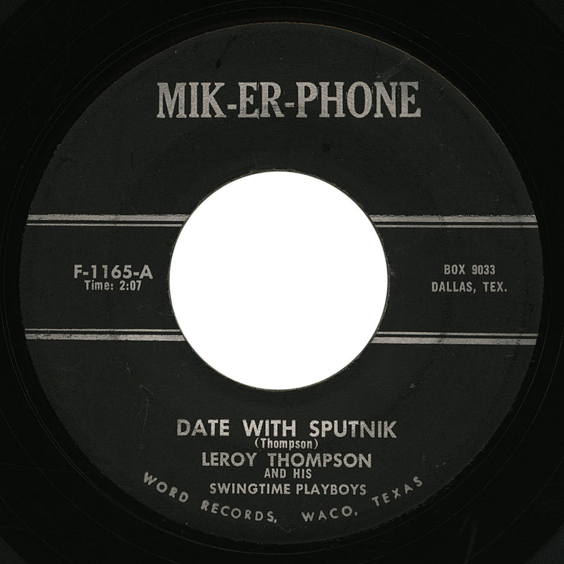 Leroy Thompson – Date With Sputnik – Mik-Er-Phone
