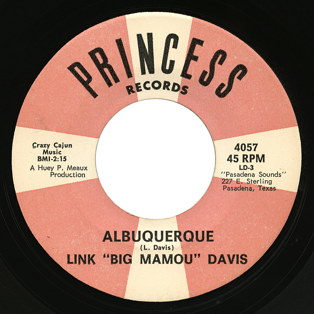 "Link ""Big Mamou"" Davis – Albuquerque – Princess"