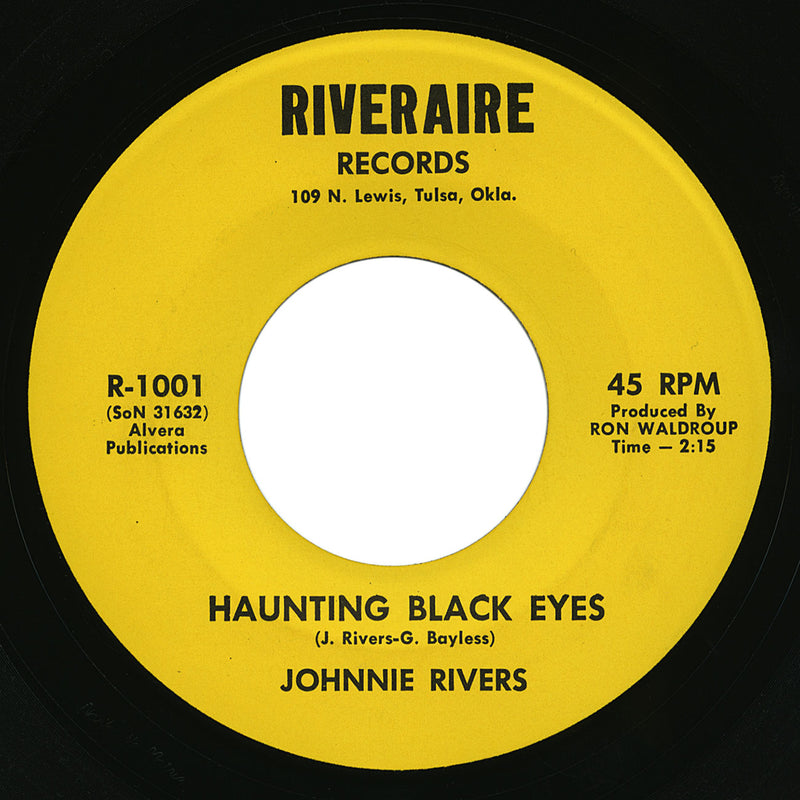 Johnnie Rivers – Haunting Black Eyes – Riveraire