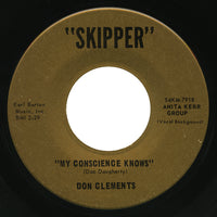 Don Clements – My Conscience Knows – Skipper