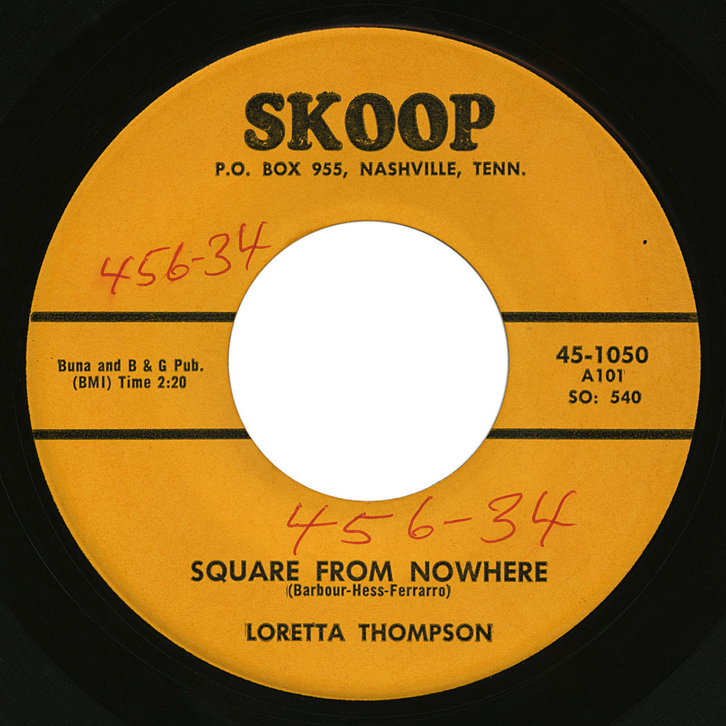 Loretta Thompson – Square From Nowhere – Skoop