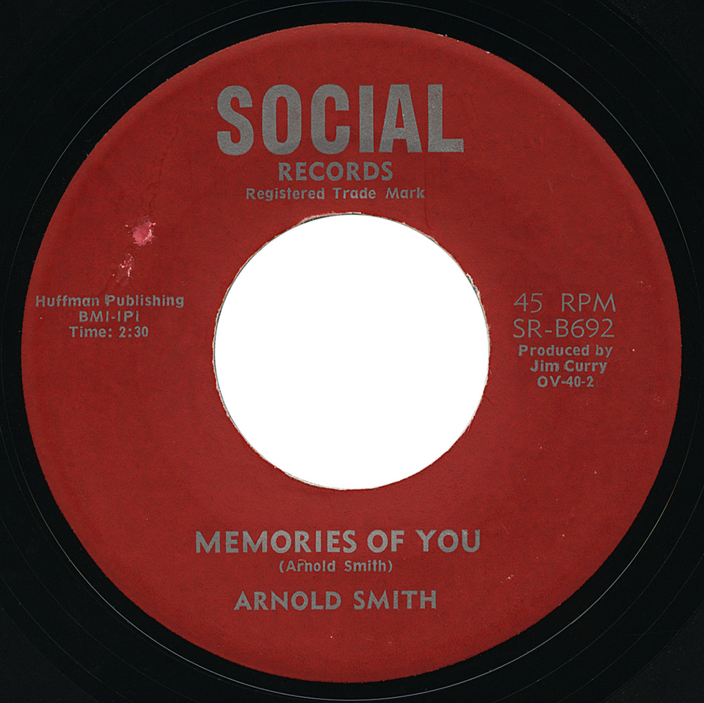 Arnold Smith – Memories Of You – Social