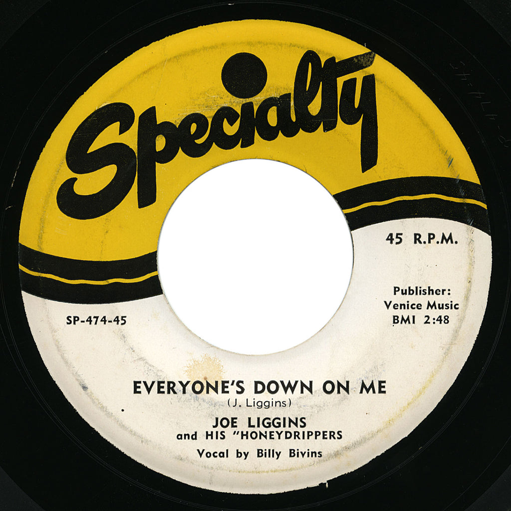 Joe Liggins – Everyone's Down On Me – Specialty
