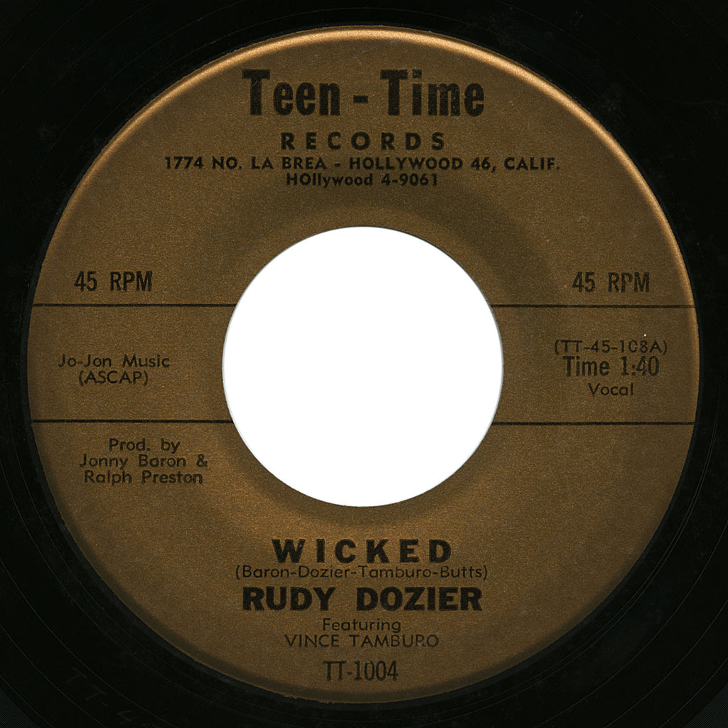 Rudy Dozier – Wicked – Teen Time