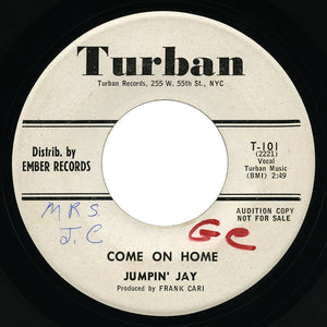 Jumpin' Jay – Come On Home – Turban