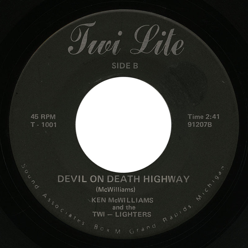 Ken McWilliams – Devil On Death Highway – Twi Lite