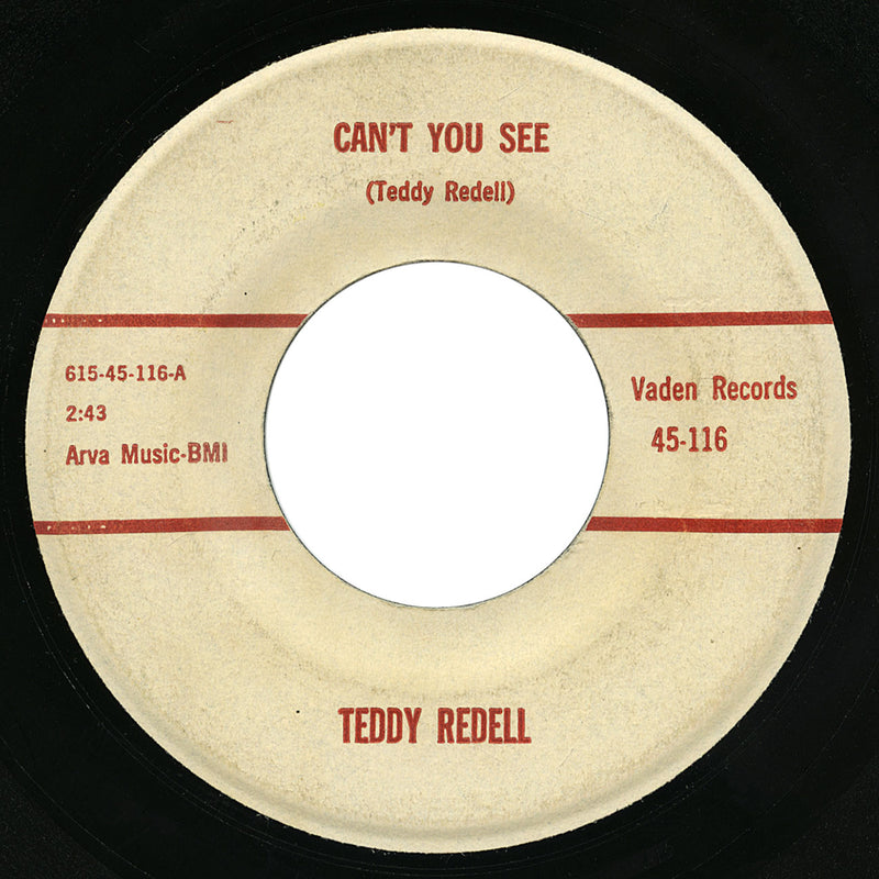 Teddy Redell – Can't You See – Vaden