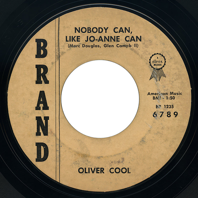 Oliver Cool – Nobody Can Like Jo-Anne Can – Brand