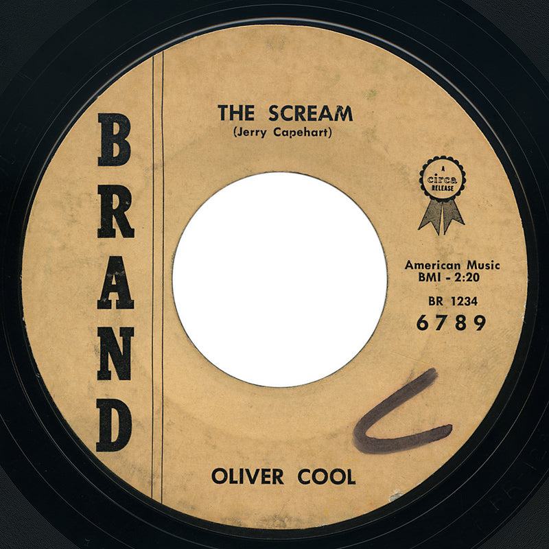 Oliver Cool – The Scream – Brand