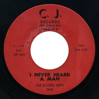 Gospel Keys - I Never Heard A Man / How About You - C.J.