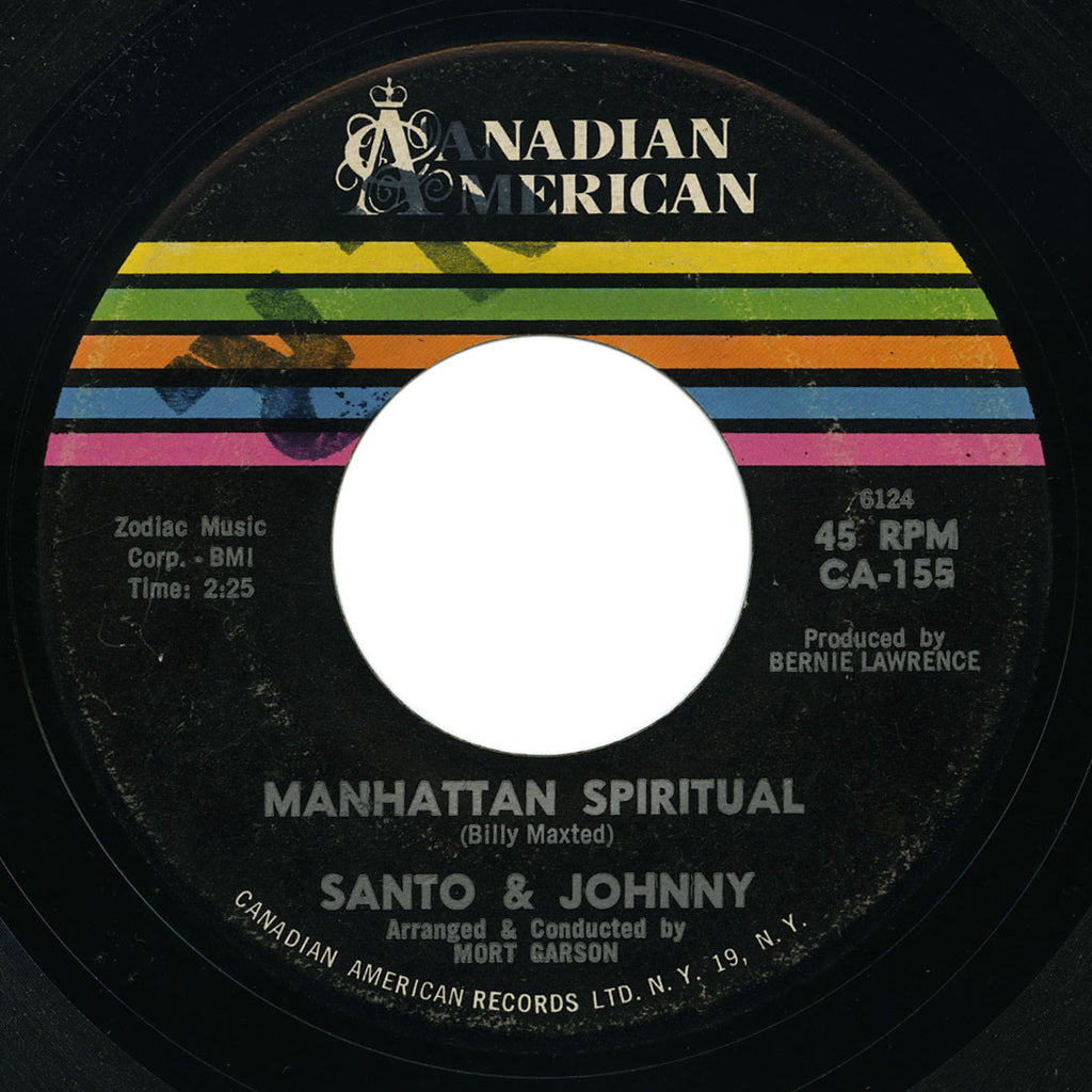 Santo & Johnny - The Wandering Sea / Manhattan Spiritual - Canadian American