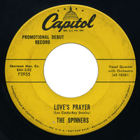 Spinners - Goofin' / Love's Prayer - Capitol