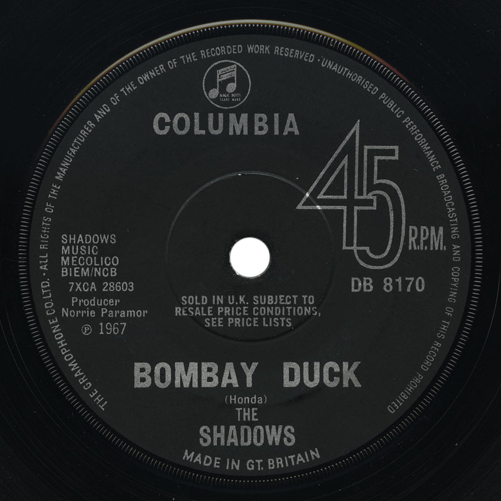Shadows - Bombay Duck / Maroc 7 - UK Columbia