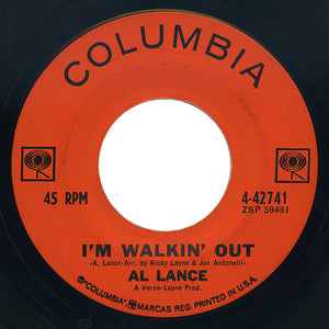 Al Lance – I'm Walkin' Out / Goodbye Maria – Columbia