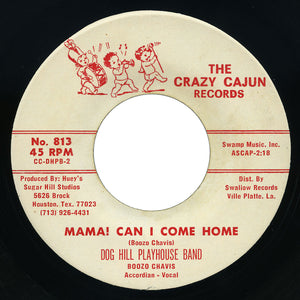 Dog Hill Playhouse Band – Mama! Can I Come Home – Crazy Cajun