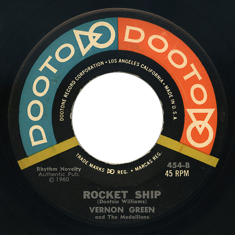 Vernon Green and The Medallions – Rocket Ship – Dooto