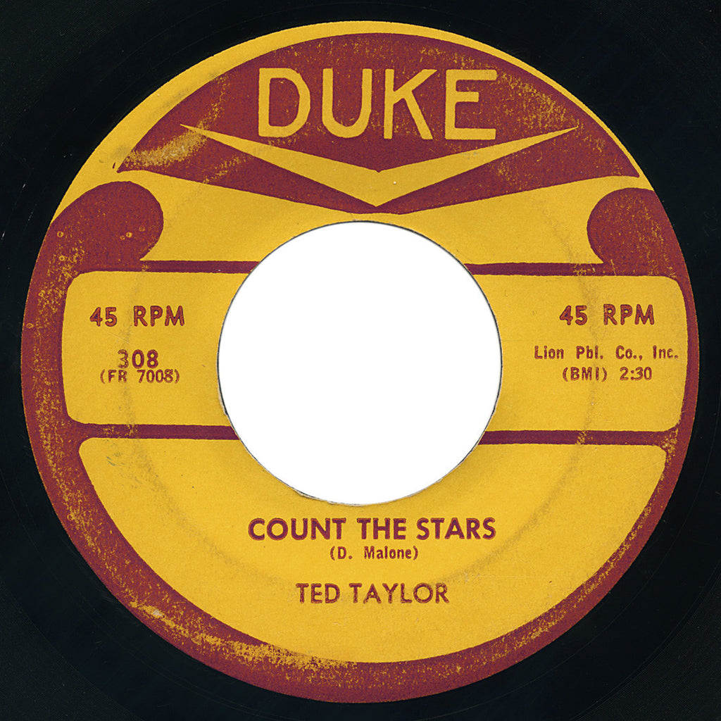 Ted Taylor – Count The Stars – Duke