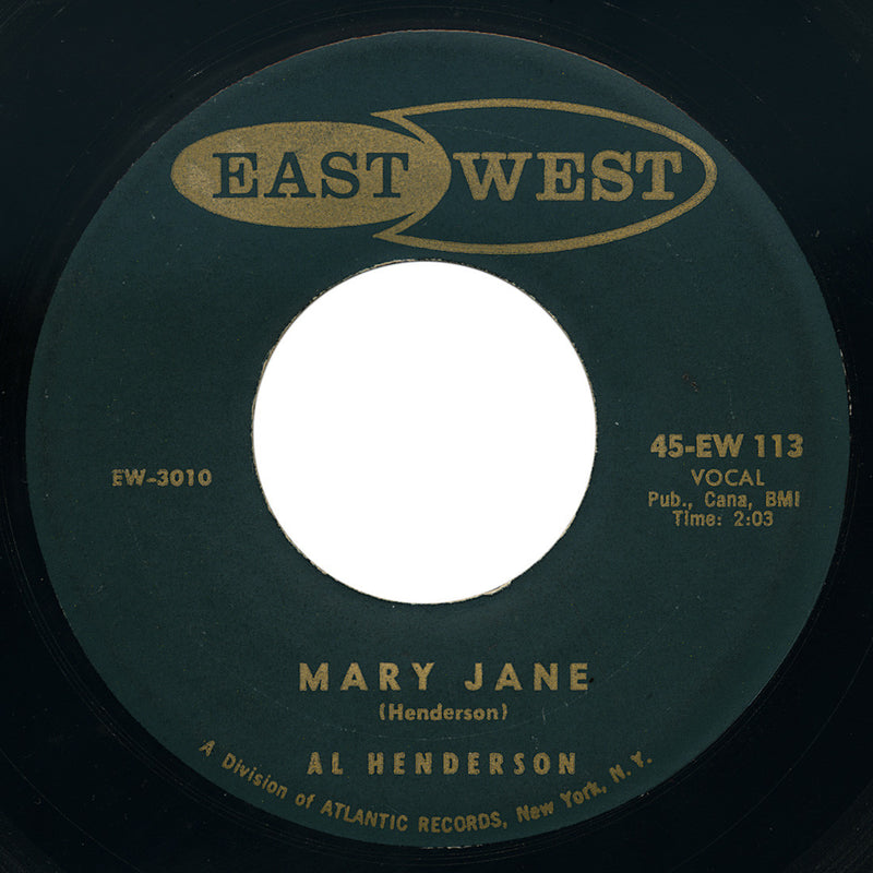 Al Henderson – Mary Jane – East West