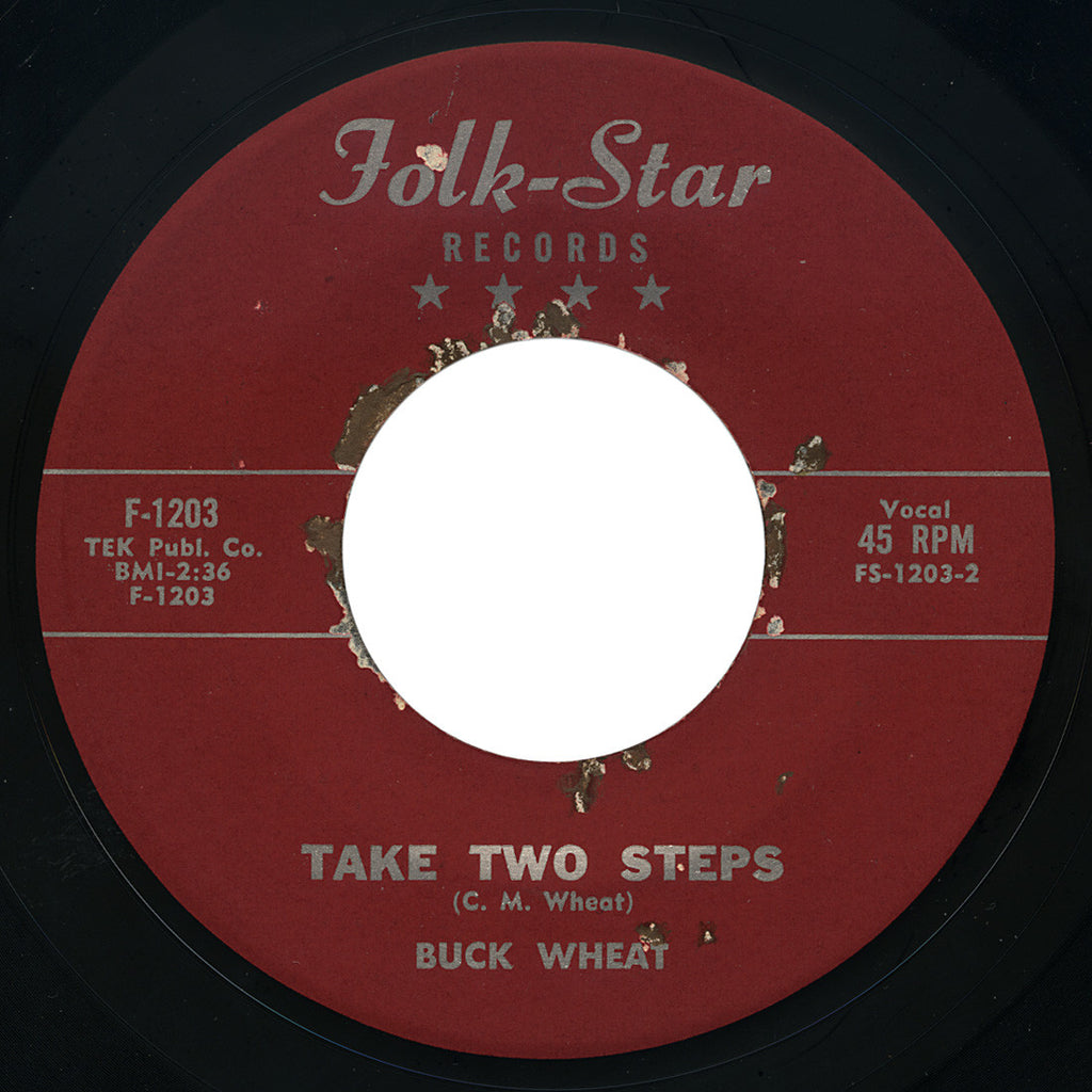 Buck Wheat – Twitterpated / Take Two Steps – Folk-Star