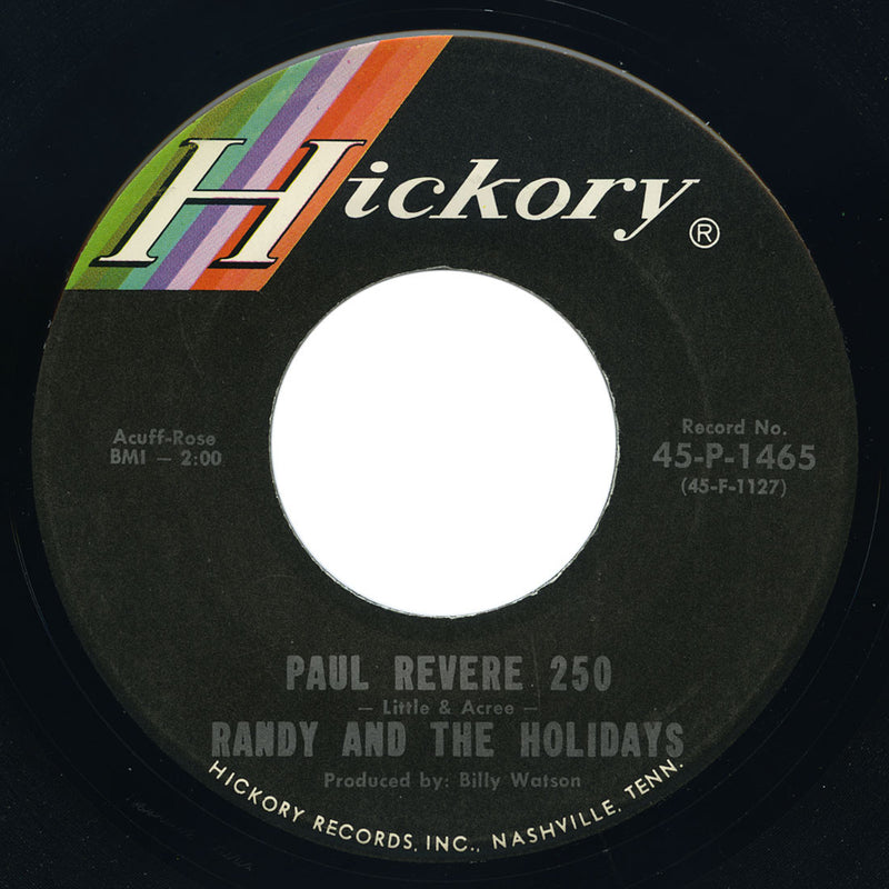 Randy And The Holidays – Paul Revere 250