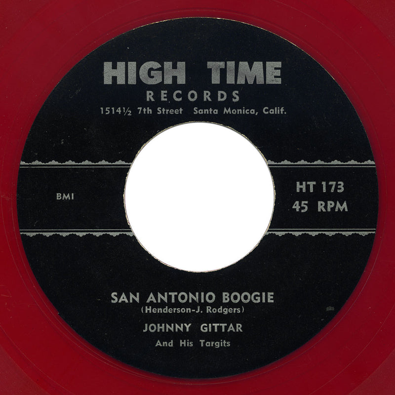 Johnny Gittar and his Targits - San Antonio Boogie / You Only Hurt My Pride - High Time
