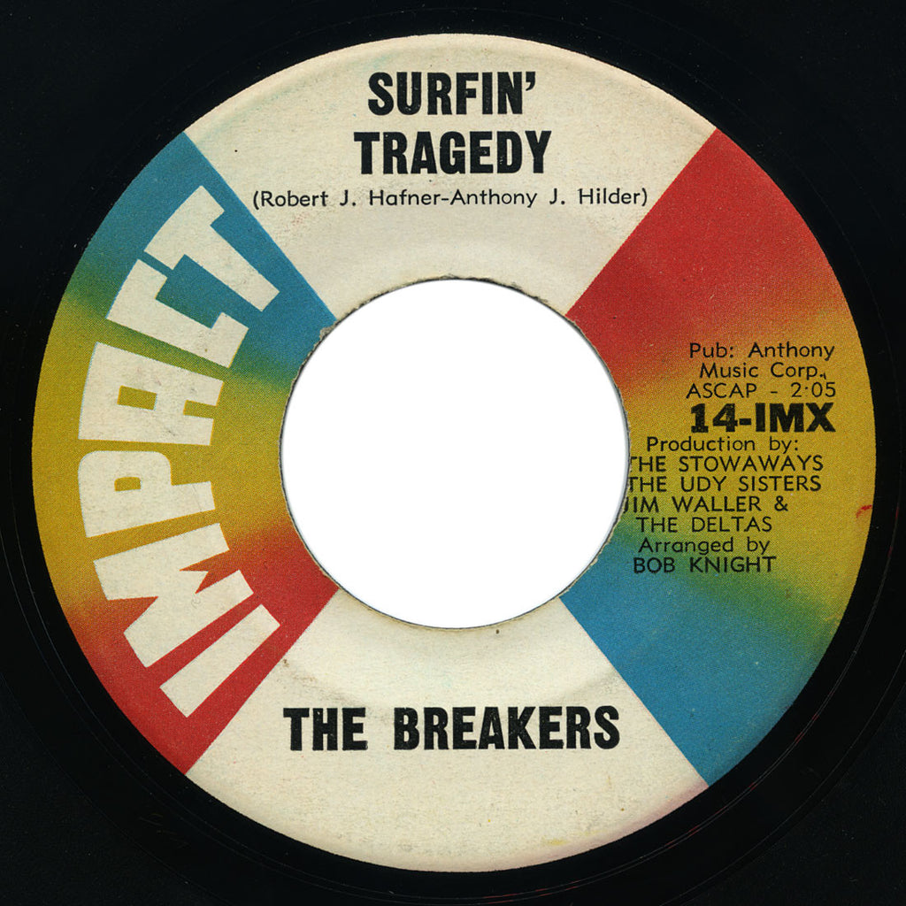 Breakers - Surfin' Tragedy / Surf Bird - Impact