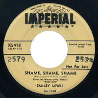 Smiley Lewis – Shame, Shame, Shame / No, No – Imperial