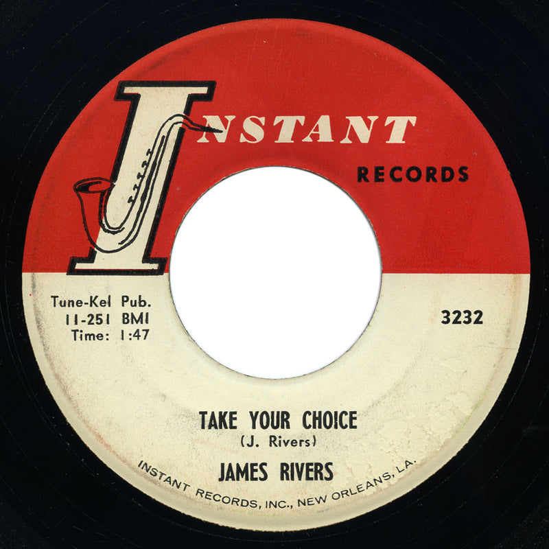 James Rivers - Closer Walk / Take Your Choice – Instant