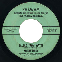 Albert Stone - Ballad From Watts / instrumental version - Khawam