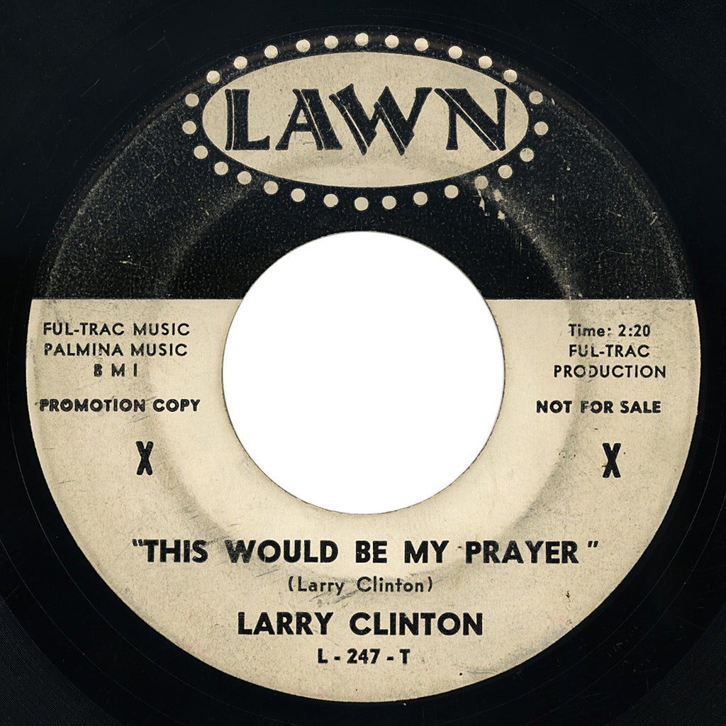 Larry Clinton – This Would Be My Prayer – Lawn