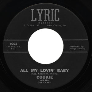 Cookie and the Cupcakes - All My Lovin' Baby / I Heard That Story Before - Lyric