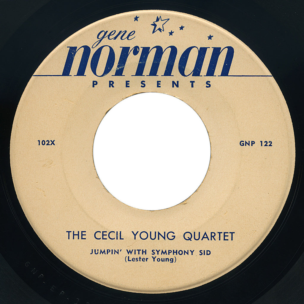 Cecil Young Quartet – Jumpin' With Symphony Sid – Gene Norman Presents