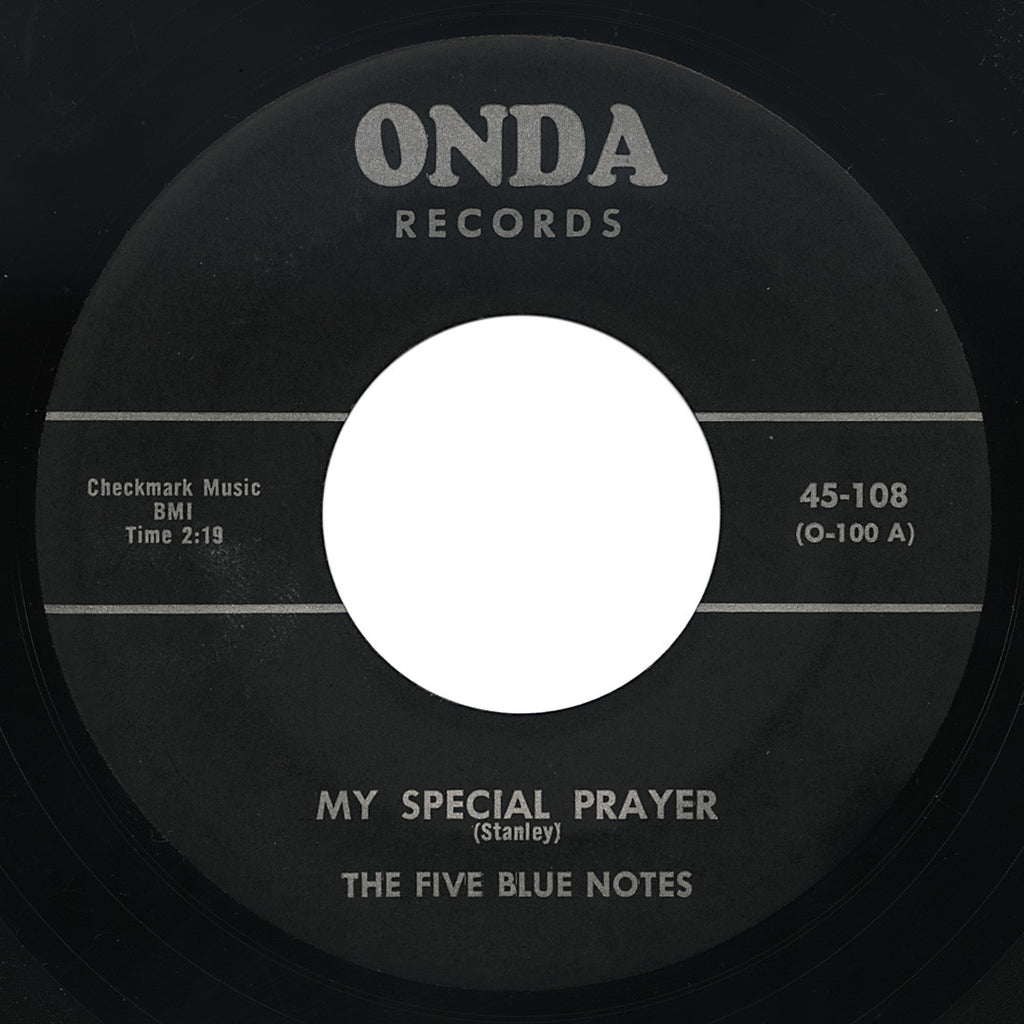Five Blue Notes – My Special Prayer – Onda