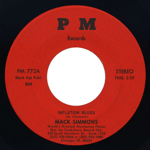 Mack Simmons – Inflation Blues