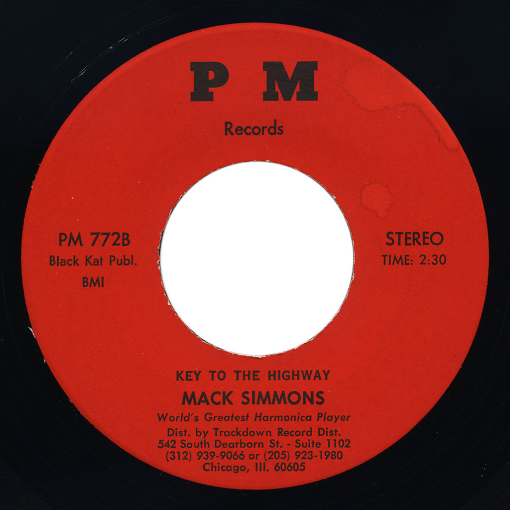 Mack Simmons - Key To The Highway