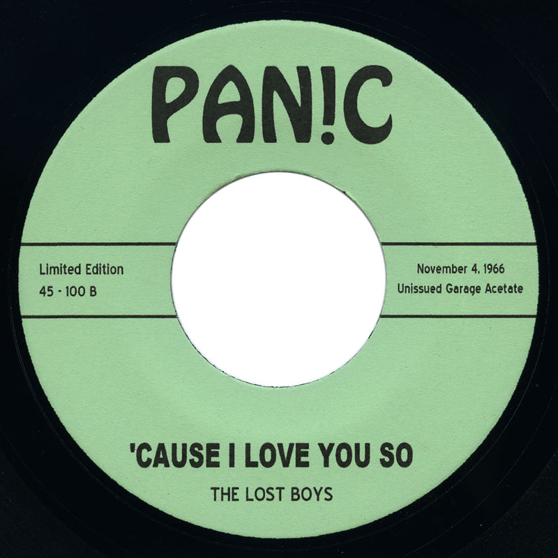 Lost Boys - Wolf Pack / 'Cause I Love You So - Panic