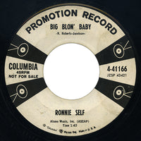 Ronnie Self – Big Blon' Baby / Date Bait – Columbia