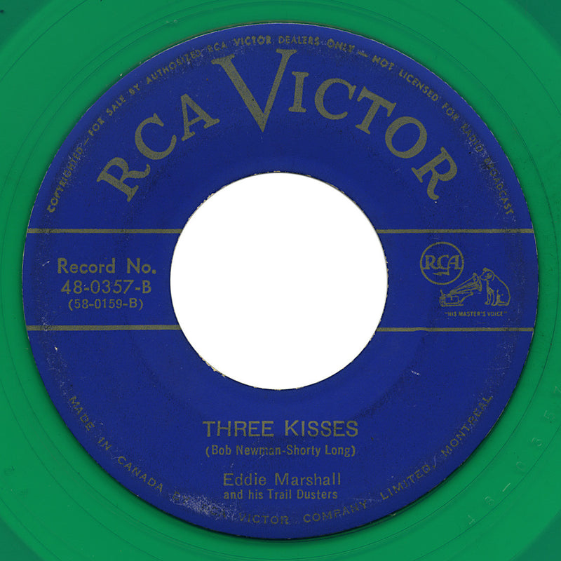 Eddie Marshall and his Trail Dusters – Three Kisses – RCA Victor