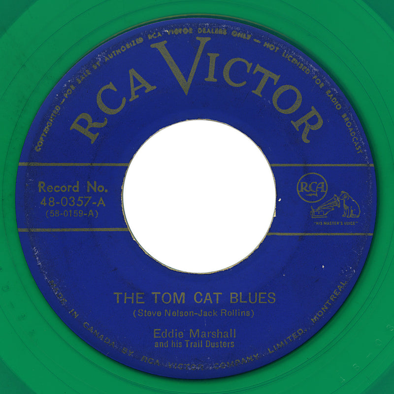 Eddie Marshall and his Trail Dusters – Tom Cat Blues – RCA Victor